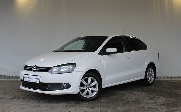 Volkswagen Polo 1.6 AT 2012 White