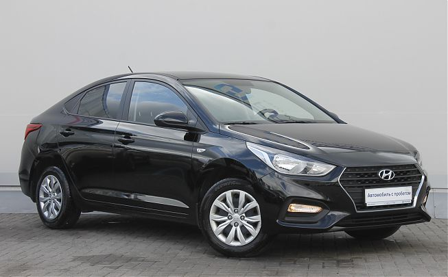Hyundai Solaris 1.4 AT 2017
